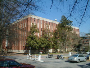 The Gardner Building at NC State in Raleigh